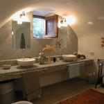 Bagno interno casa del melograno
