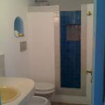 Bagno azzurro casa Miki