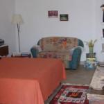 Camera da letto casa Leila Filicudi
